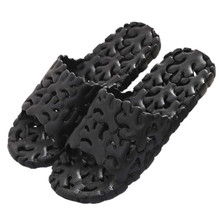 Buy 30% OFF Men coral Hollow bathroom slippers slip resistant fashion colorful beach flip flops casual shoes men's summer sandals for $13.82 in AliExpress store