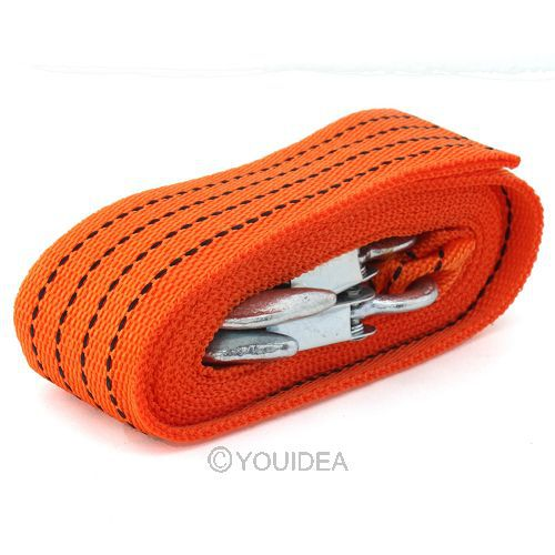 3 T 4 M Heavy Duty Tonne Emergency Steel Recovery Tow Rope For Car Van Truck 21033(China (Mainland))