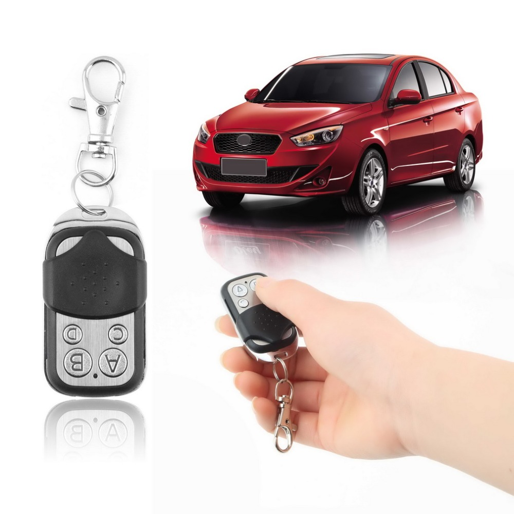 Electric Wireless Auto Remote Control Cloning Universal Gate Garage Door Control Fob 433mhz Key Keychain Remote Control(China (Mainland))