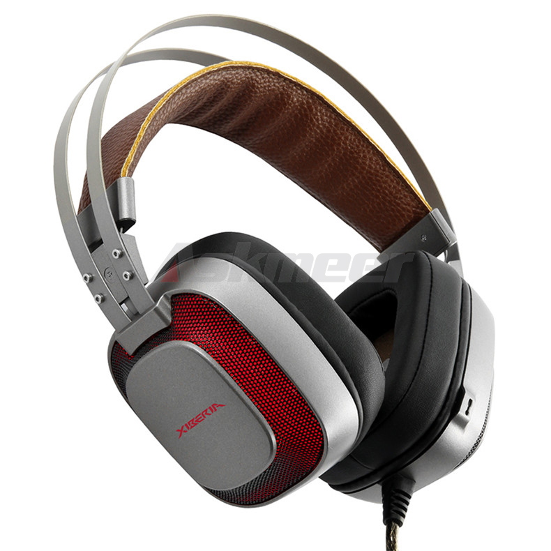 XIBERIA K10 Gaming Headphones casque USB Computer Stereo Heavy Bass Game Headset with Microphone LED Light for PC Gamer (6)