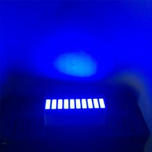 5pcs Blue 10 LED Bargraph LED Display Bar Blue 10 Graphic LED Bar Graph Display Model(China (Mainland))