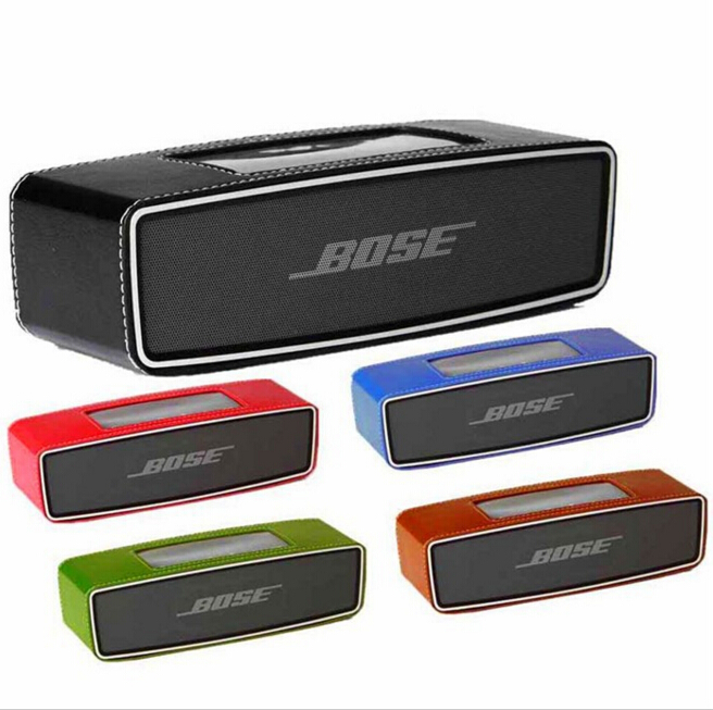 2017 Hot Leather Case Sleeve Cover Pouch Bumper for Bose Soundlink Mini Bluetooth Speaker Free shipping