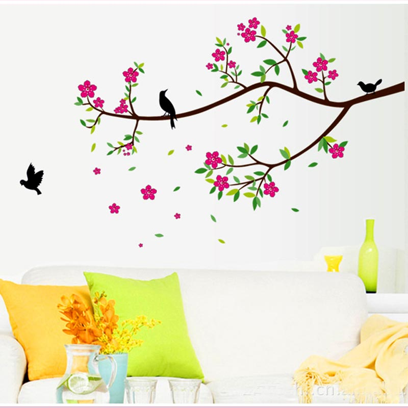 Aliexpresscom Buy Beautiful Flowers Decoration Wall