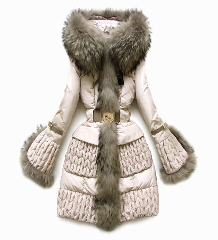 2013 Женщины Down Jacket , Raccoon Large Мех Quilting Длинный Down Outerwear, Luxury ...