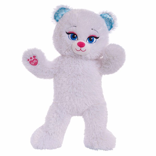 2PC/lot 45CM ICE QUEEN Bear Elsa Build a Bear Plush Toys Stuffed Animals New Year Children's Day toy Gift Valentine Gift(China (Mainland))