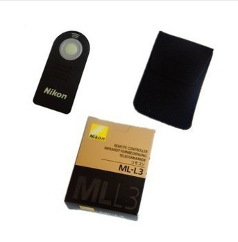 50pcs/lot Infrared Remote Control for Nikon D5000 D3000 D90 D80 D70 D70s D60 D50 D40 D40x CP8800 / F65 ML-L3(China (Mainland))