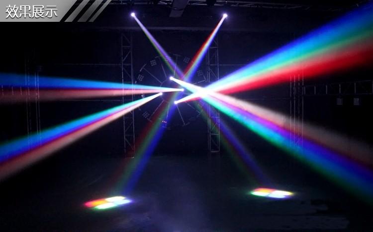Купить Мини перемещение луча света RGBW Quad-in-1 кри из светодиодов компактный перемещение головы освещение сцены для диско DJ ну вечеринку бар KTV салон ну вечеринку