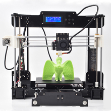 New arrival High Quality Precision Reprap Prusa i3 DIY 3d Printer kit with 1 Roll Filament
