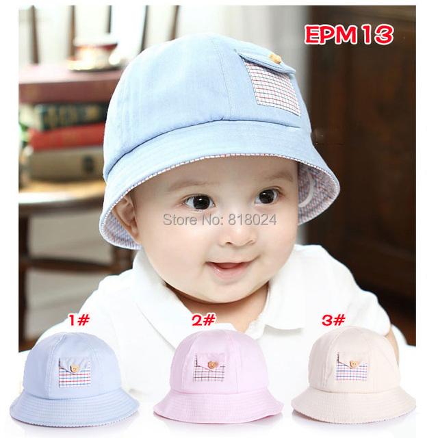 Дети солнца шляпа маленькие мальчики девочки ведро шляпа пасха капот девочка ведро шляпа лето хлопок шляпа для 1 - 3 лет