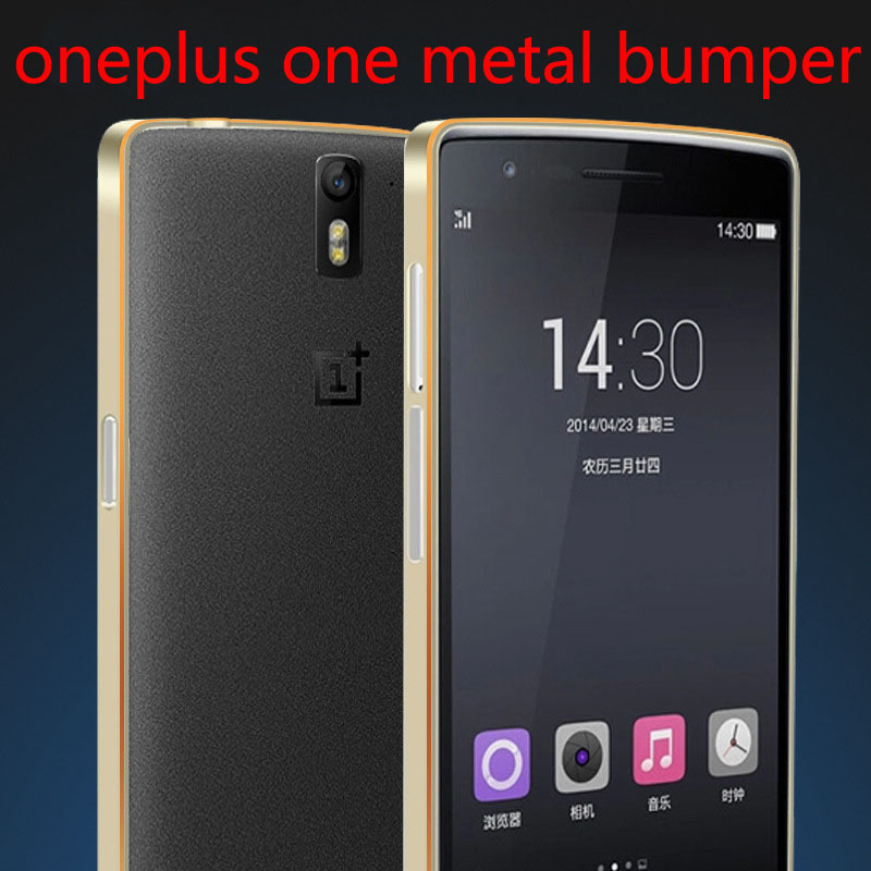 Oneplus one/one plus one Aluminium Excellent Metal Frame 0.7mm Silm Bumper,free shipping!(China (Mainland))
