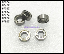 Buy 10pcs/Lot 675ZZ 675 ZZ 5x8x2.5mm Thin Wall Deep Groove Ball Bearing Mini Ball Bearing Miniature Bearing Brand New for $4.36 in AliExpress store