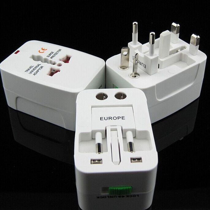 Universal Travel Adapter Converter Electrical Plug Socket US UK EU AU Interional socket plug adapter(China (Mainland))