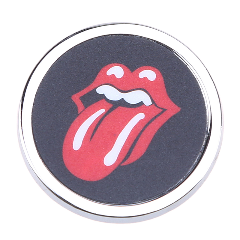 Car Room Funny Round Mini 3D Car Auto Motorcycle Badge Logo Emblem Sticker SUV Truck Car-Styling 35mm Big Red Tongue Style(China (Mainland))