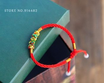 Free Shipping! Couples Red String Bracelet, Min. Order $15(mix order)