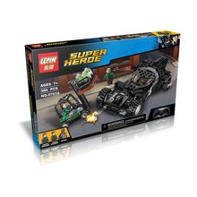 07018 Super Hero Batmobile Batman Luthor Building Block Toys (China (Mainland))