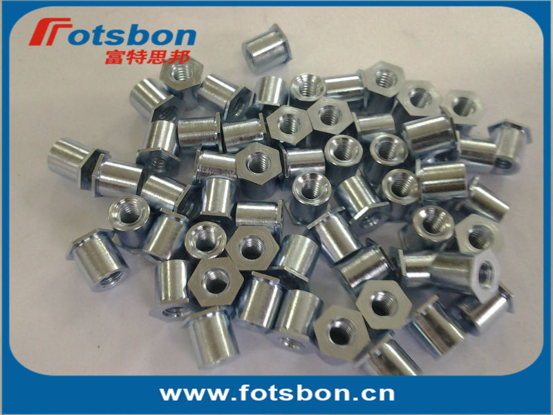 TSOA-440-125 Threaded standoffs for sheets thin as 0.25/ 0.63mm,PEM standard,AL6061,<br><br>Aliexpress