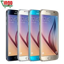 Original Samsung Galaxy S6 Edge G925F G920F Mobile Phone Octa Core 3GB RAM 32GB ROM LTE 16MP 5.1″inch Android 5.0 SmartPhone