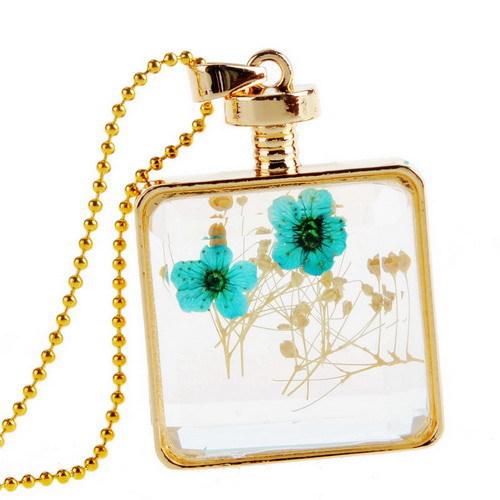 Diy Glass Pendant Necklace Pendant Necklace Glass