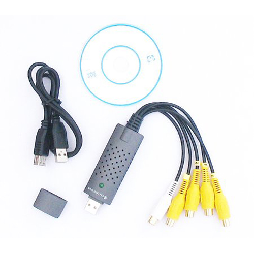 PROMOTION! DC60 USB 2.0 Video Capture Adapter with Video Editing Software