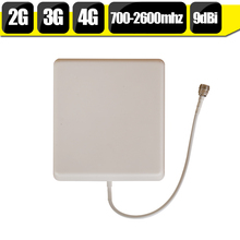 Buy 700mhz-2700hz GSM 2G 3G 4G LTE Mobile Phone Antenna N Type 9dBi Gain Indoor Panel Internal Cellphone Antenna For Signal Booster for $5.70 in AliExpress store