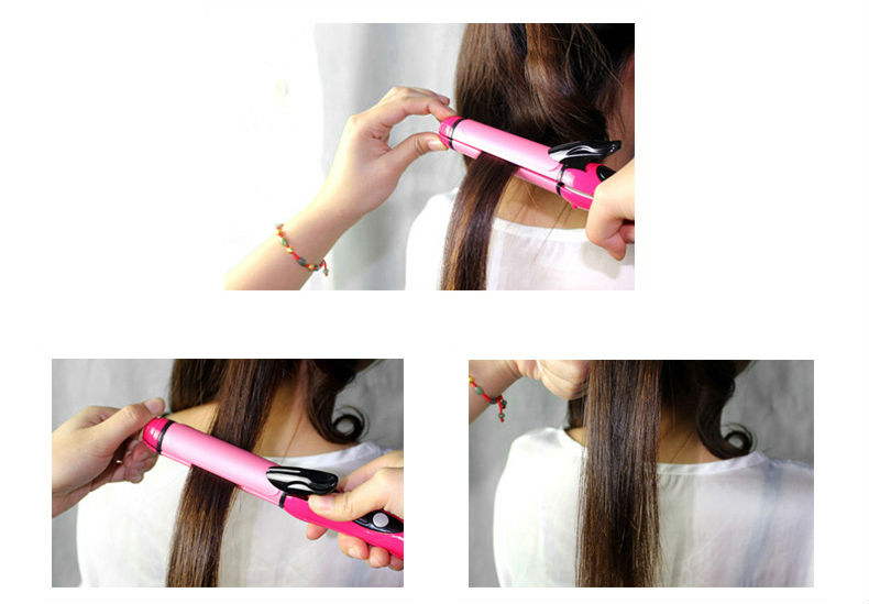 68Как щипцами для выпрямления волос сделать кудри