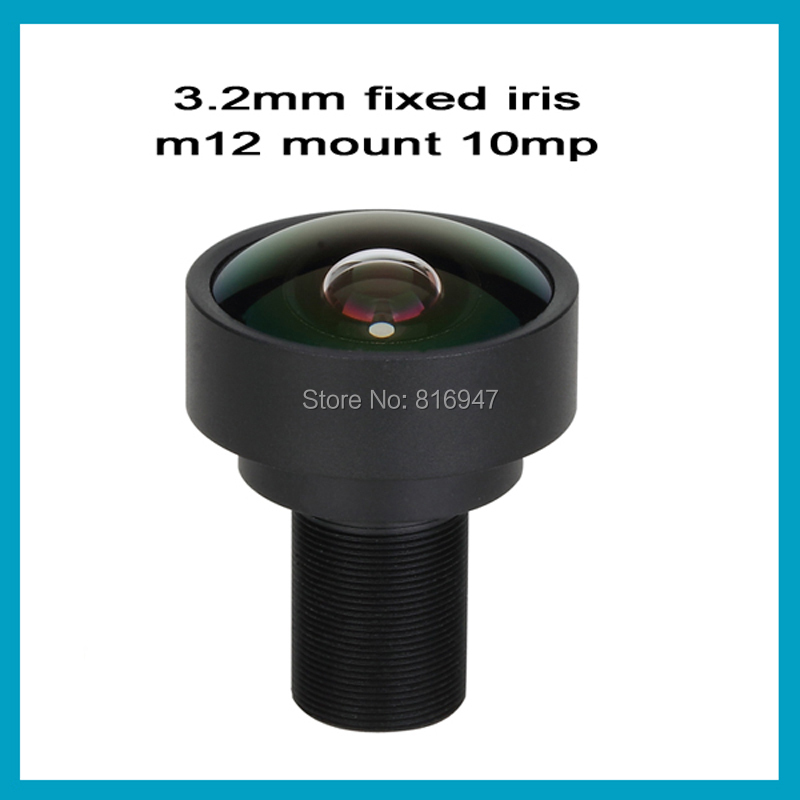 "Здесь можно купить  Free shipping Ricom new CCTV lens 1/2"" F2.2, 3.2mm MTV lens, camera lens for CCTV Surbeillance cameras, 10 megapixel HD lens  Безопасность и защита"