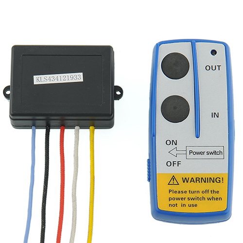 WIRELESS WINCH REMOTE Control SWITCH lift gate dump bed 12v volt tow truck Free shipping(China (Mainland))