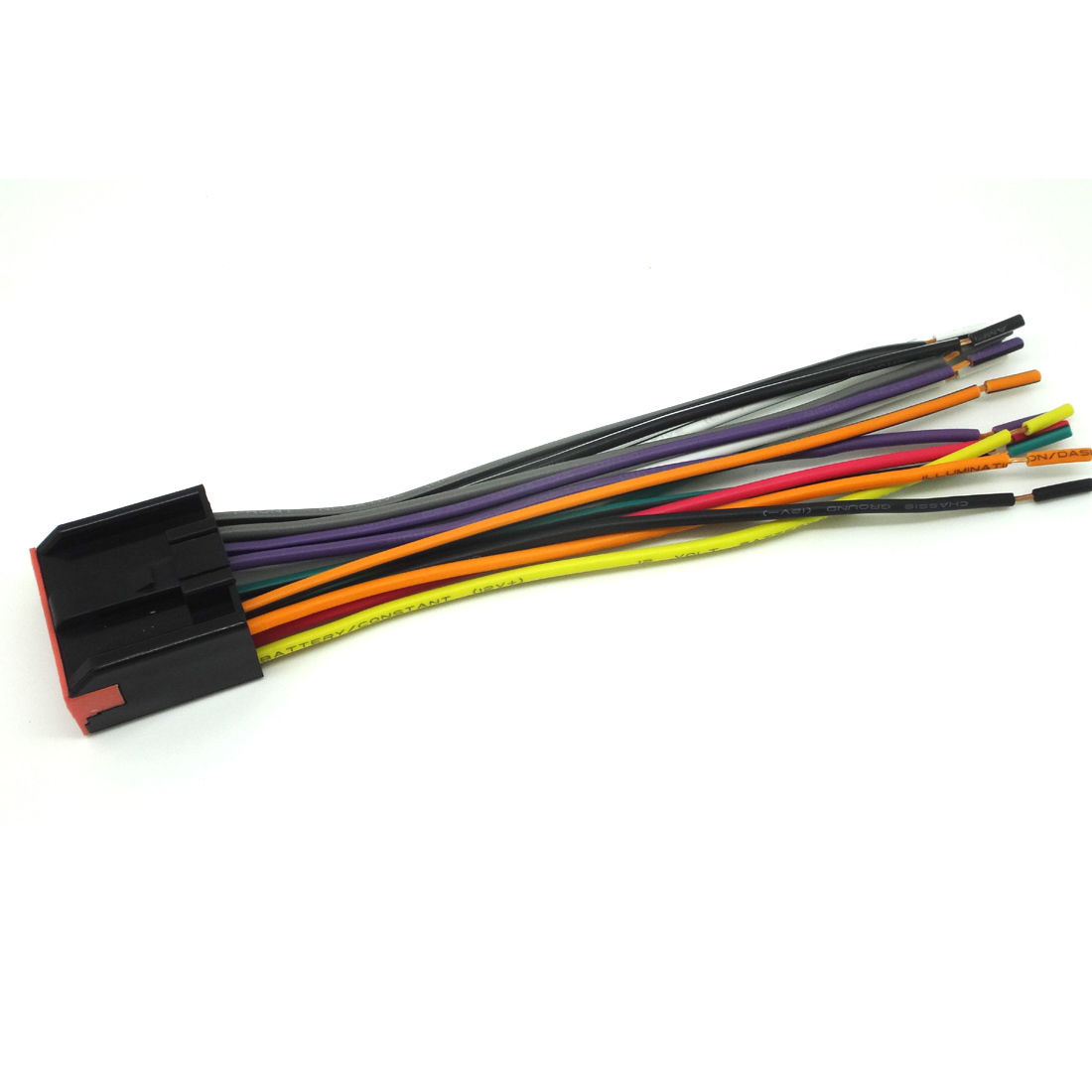 nissan car stereo wiring harness for radio cd