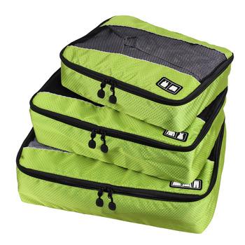 Новый 2015 упаковка cube-3шт Set женщин и мужская сумки нейлон мешок школы высокой ...