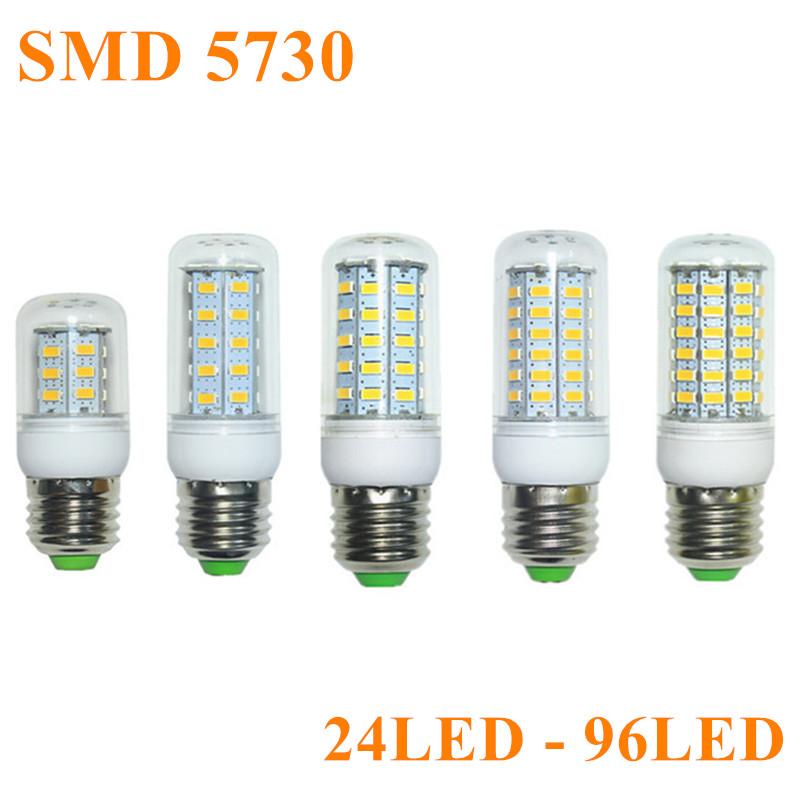 Гаджет  Hot SMD 5730 Lampada LED Lamp E27 220V Chandelier Bombillas LED Bulb E14 Candle Lamparas G9 Spotlight Luz Ampoule LED Light Bulb None Свет и освещение