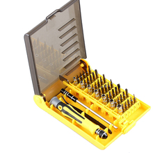 Multi-function 45 In 1 combination screwdriver set Precision Magnetic Screwdriver Tool Kit Torx for repair and disassemble