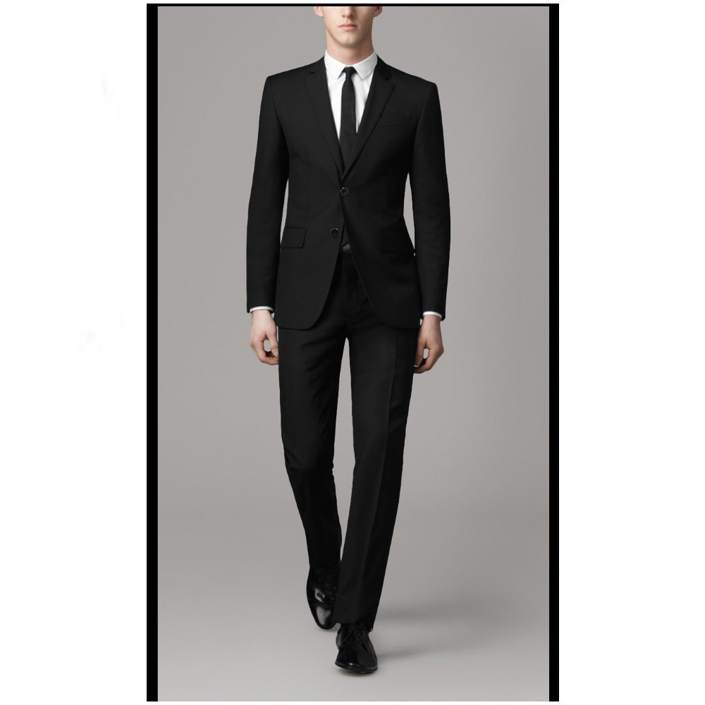 Male Suits Groomsman Tuxedos Men Wedding Suits Custom Made Trim Fit