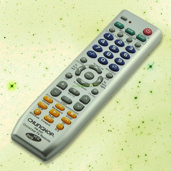 EN0427 Universal TV DVD VCD Remote Control Controller 3 In 1(China (Mainland))