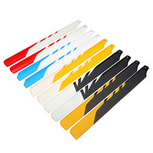 Aglin TREX 450 RC Helicopter Accessories 325MM Fiberglass Main Blade For RC Camera Drone Accessories
