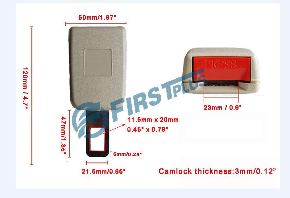 Ремень безопасности для авто TOYOTA Camry