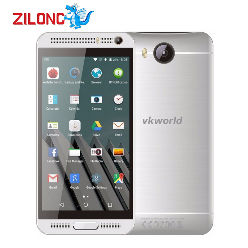 "Original Vkworld VK800X 5.0"" IPS Android 5.1 Smartphone MTK6580 Quad Core 1GB RAM 8GB ROM WCDMA GPS 8MP Dual Sim 3G Mobile Phone(China (Mainland))"