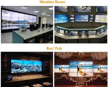 For control room,40 inch lcd video wall display in 2x2,3x3,4x4,3x4 multi-screens(China (Mainland))