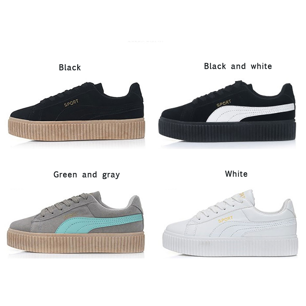 Women Casual Shoes Women Classic Female Walking Shoes Lovers Superstar Trainers Zapatos Casuales Mujer Creepers Platform Shoes(China (Mainland))