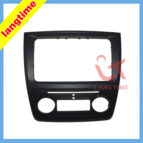 Car refitting DVD frame,DVD panel,Dash Kit,Fascia,Radio Frame,Audio frame Skoda yeti (Auto AC) - Guangzhou LangTime Audio and Video Co.,Ltd. store