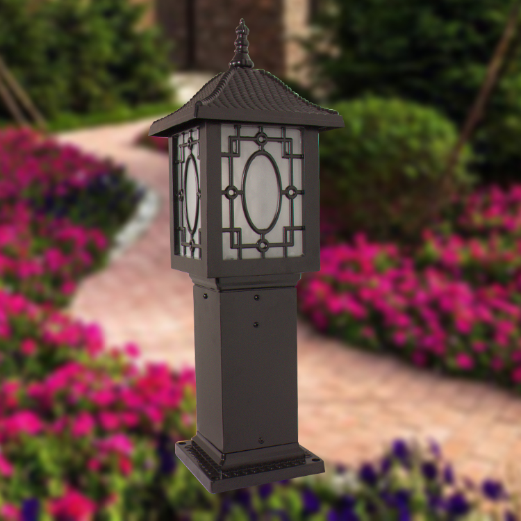 Chinese-style garden villa outdoor lawn light lamp waterproof type O<br><br>Aliexpress