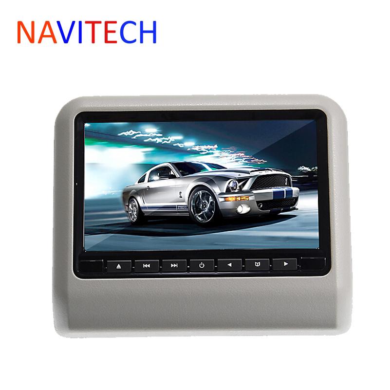 9inch car dvd headrest player monitor with 32Bit Games+USB+SD+IR/FM transmitter,free shipment(China (Mainland))
