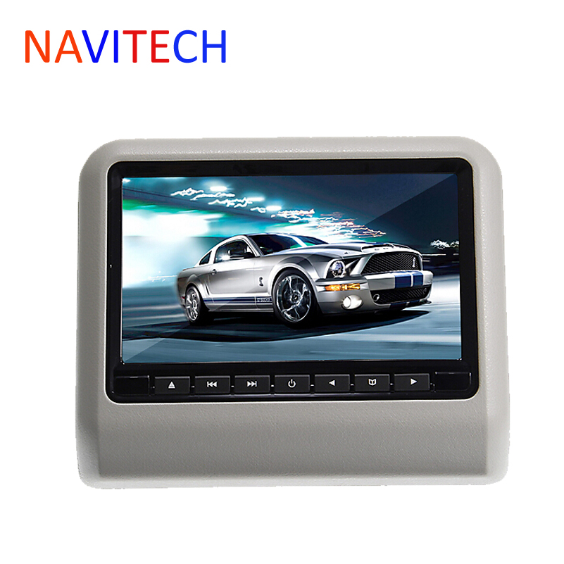9inch car dvd headrest player monitor with 32Bit Games+USB+SD+IR/FM transmitter,free shipment(China (Mainland))