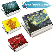 Van Gogh design15 15.6 17 Notebook DIY Laptop Skin laptop Sticker Netbook Sticker Cover Decel