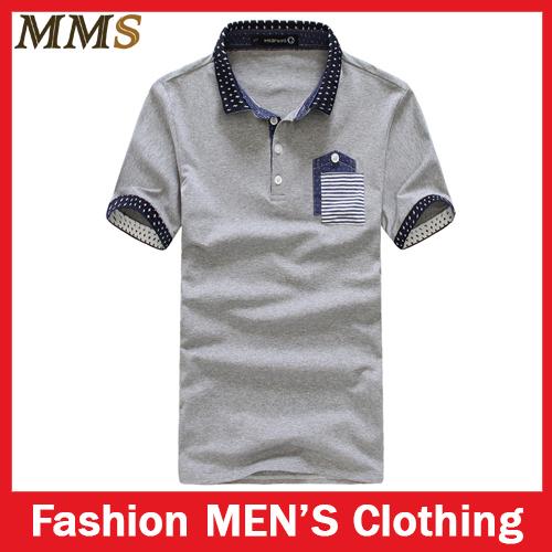 Free Shipping 2014 Brand Polo Shirts For Men M Xxl Cotton