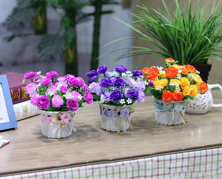 New artificial silk flower wedding fake colorful little New flower decoration