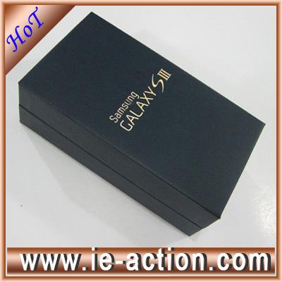 Original samsung galaxy s3 blue box and menu book for i9300(China (Mainland))