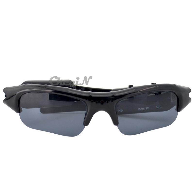 Mini HD Cam Sun Glasses Eyewear Digital Video Recorder Glass Camera Mini Camcorder Video Sunglasses X55(China (Mainland))