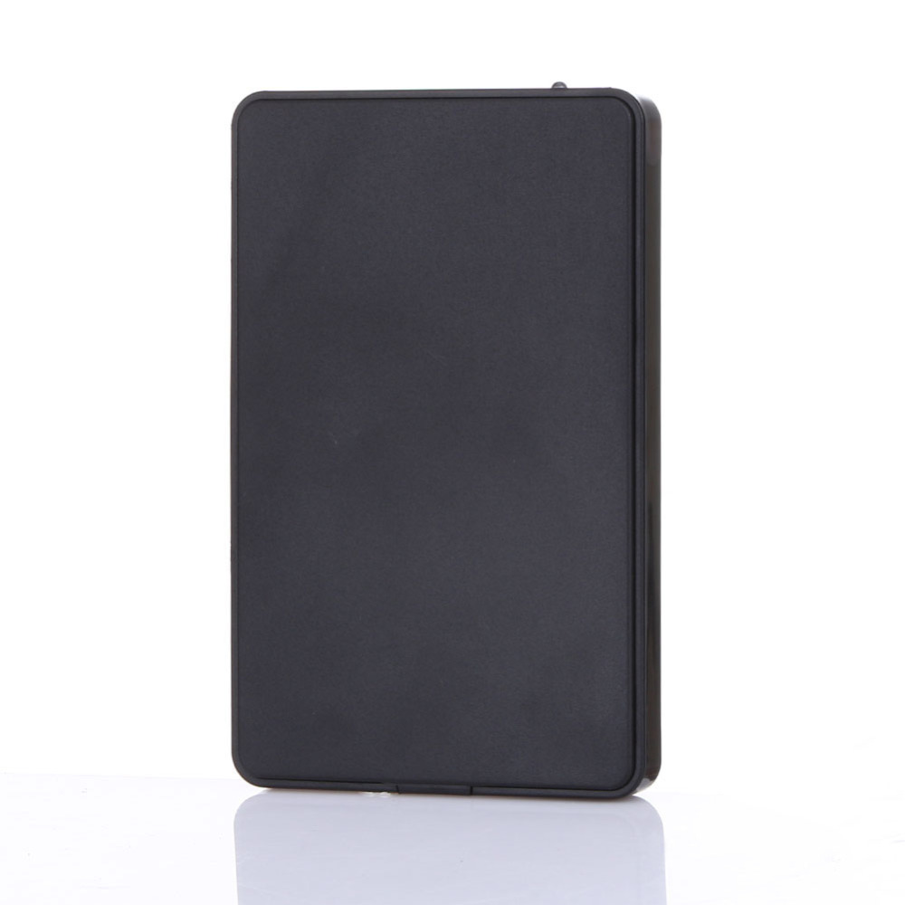 High Quality Slim Portable 2.5 Inch HDD Enclosure USB 2.0 External Hard Disk Case SATA Hard Disk Drives HDD Case with USB Cable(China (Mainland))