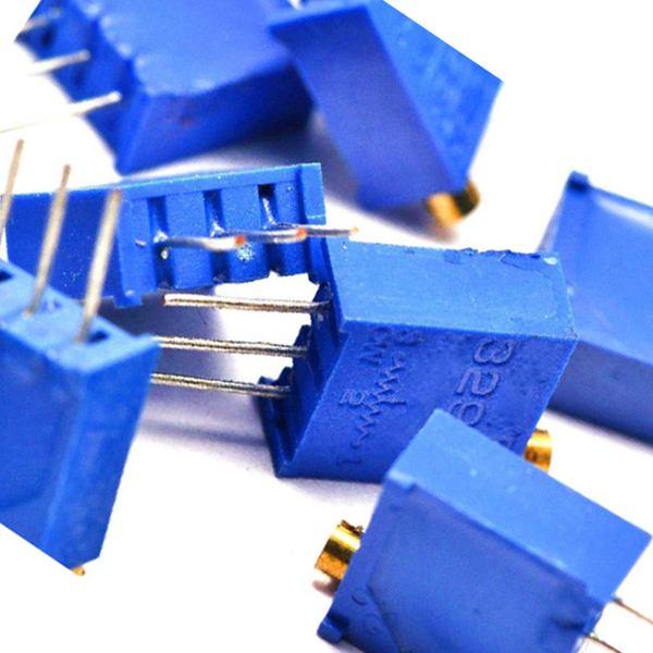 Гаджет  1Pack = 10pcs 5K ohm 3296W-502 3296 W Trim Pot Trimmer Potentiometer Adjustable Resistor Useful None Электронные компоненты и материалы