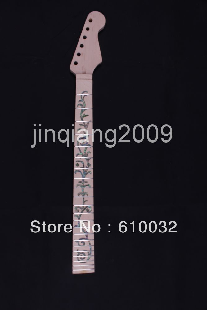 22 frets holt on    One electric guitar neck maple wood  and  maple wood fingerboard 302#<br><br>Aliexpress